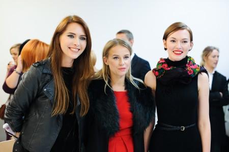 """Projekto """"Mes.Moterys"""" organizatorės Modesta Kairytė, Neringa Rekašiūtė, Beata Tiškevič-Hasanova"""